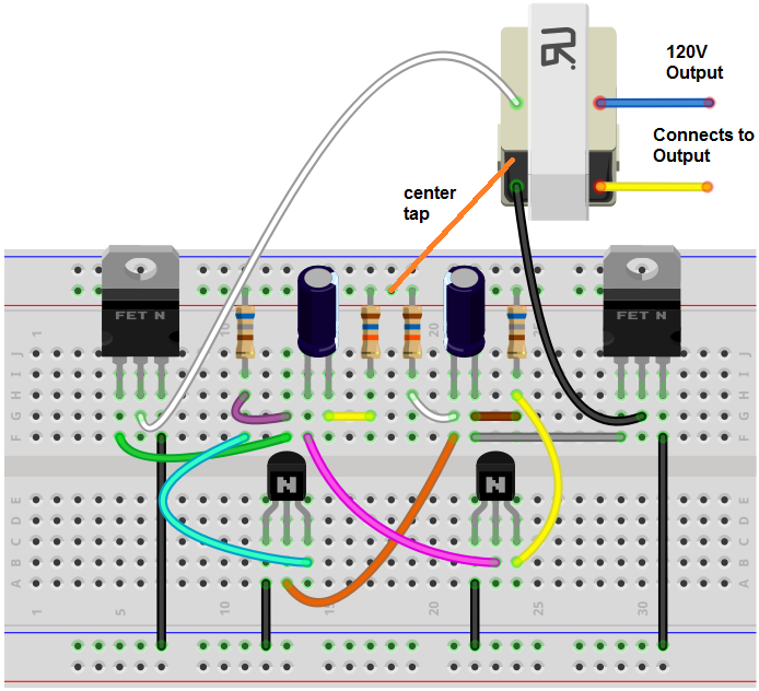 How To Build A Power Inverter Circuit
