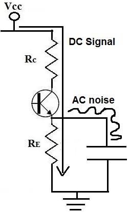 Как работает байпасный конденсатор