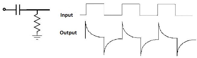 RC-Дифференциаторная схема